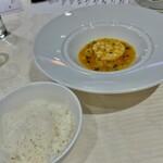 Shisenhanten - 蕪とホタテの蟹味噌