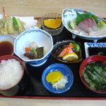 白鶴亭 - 白鶴定食2100円