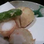 日本料理 華雲 - 薄衣で、カリッとして唯一美味しかった