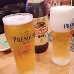 江戸前 びっくり寿司 - 瓶ビール