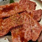 焼肉問屋バンバン - 料理写真:和牛ザブトン(1280円)