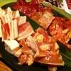 ヌルボンガーデン - 料理写真:一番最初に来るお肉の盛合せ