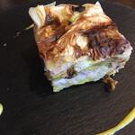 イカリヤ食堂 - 烏賊とキャベツのミルフィーユ仕立て