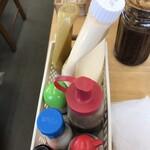 腰越漁業協同組合直売所 - テーブル調味料