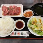 焼肉牛勢 - カルビランチ980円税込