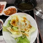 焼肉牛勢 - サラダスープ付き