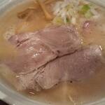 西中島 光龍益 - クリーミィな鶏白湯。