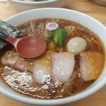149042655 - ワンタン麺味玉入り大盛り醤油味・1150円