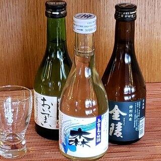 ドリンクも充実の品揃え!地元の酒造が手掛ける日本酒もぜひ