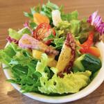 イタリアンの風 うれし野 - 彩り綺麗なランチセットのサラダ