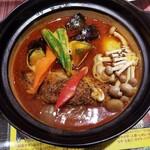 天竺 - ハンバーグカレー 1100円