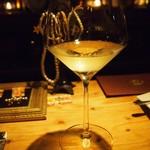 ワインと天婦羅 あら木 - 白ワイン.JPG