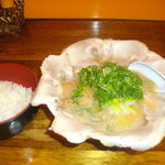 14905517 - 塩こってりチャーシューとご飯(ランチ時無料)