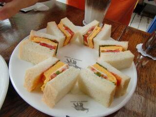 ナス・ショウゾウ カフェ - サンドイッチ♪
