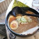 北海道ラーメン 追風丸 - 醤油ラーメン(大盛/770円)