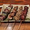 福ろう - 料理写真:サガリ、豚軟骨、シロ、レバー