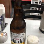 餃子の王将 - 瓶ビール528円