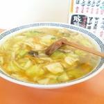 14906146 - 当店自慢のチャンポン650円(麺大盛り無料)