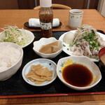 ごちそう処 きむら - 料理写真:日替わりの 豚しゃぶおろしポン酢~☆