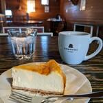 ろまん亭 - ベイクドチーズケーキとコーヒー