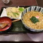 Mimiu - 牡蠣と野菜の天麩羅そば