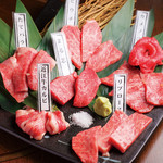 近江牛焼肉結 - 本日のおすすめ7種「今宵限り盛り」