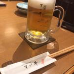 別館 すが井 - 生ビール!