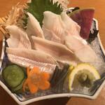 別館 すが井 - 刺身(950円税別)