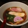 ひのき屋 - 料理写真:鶏の極み醤油中華そば(800円、斜め上から)
