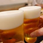 149077985 - 生ビールで乾杯♪