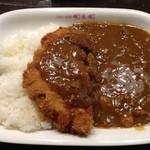 めん房 - カツカレー800円