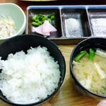 tonkatsuke-waike- - ゴハンセット