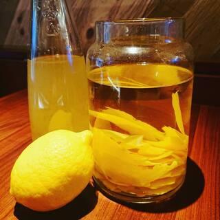 神楽坂檸檬サワー、こだわってます!
