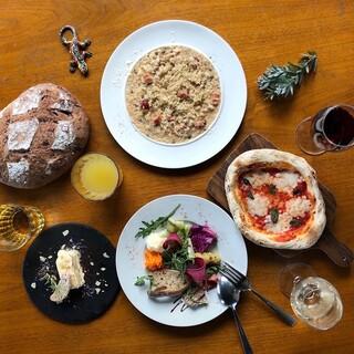 上野の雑踏を忘れる魅力の空間とワイン、お料理のマリアージュ