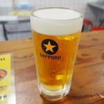 台風飯店 - 生ビール