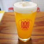 台風飯店 - マンゴービール