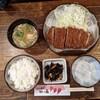 Katsusen - 料理写真:ロースとんかつ定食 1,000円