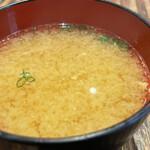 sanrikuchokusoupuripurikakitoshinsengyokaiiwatesanrikuchokusousakabahachimaru - 味噌汁