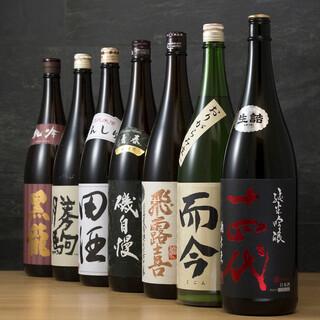 14代、新政などのプレミアム日本酒が勢ぞろい!