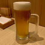 お好み焼き 恋火 - キリン 一番搾り ¥420