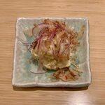 お好み焼き 恋火 - ポテサラ男爵のポテサラ ¥480
