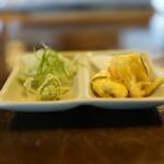 二丸屋武蔵亭 - 薬味、お新香
