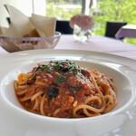 149100419 - スパゲティ タコのラグーソース
