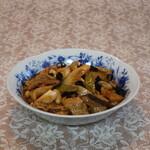 中国名菜 青葉 - 料理写真:豚肉の四川唐辛子炒め(激辛)