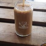 オサル コーヒー - コーヒーバナナシェイク