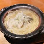 さかな市場 - 蛤と浅利の貝だしラーメン650円(税抜)