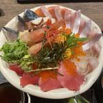 海宝 - 料理写真:海鮮丼 特盛¥2.200