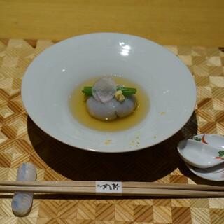 粋・丸新 - 料理写真:粋コース 蓮根饅頭