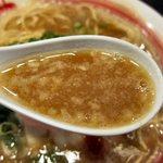 新・和歌山ラーメン ばり馬 - ばり濃スープ