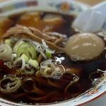 らーめんの土佐屋 - 料理写真:ラーメン+味付タマゴ